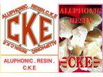 ALUPHONIC RESIN .C.K.E ..BEST  FILLER FOR RUBBR