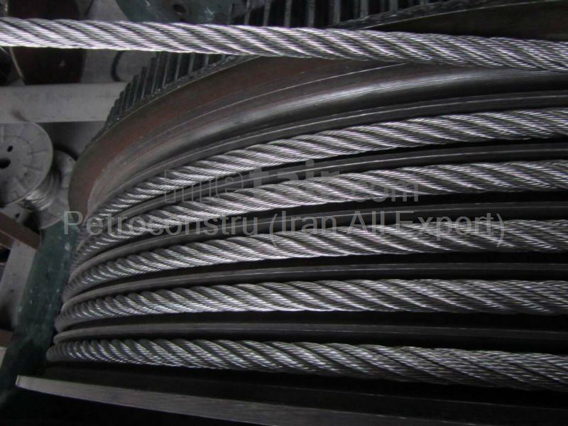 Steel Wire rope from Iran to Qatar and Iraq