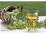White grape juice concentrate, packed in 265 kg metal drums