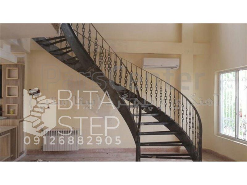 پله گرد دو محور ورق Bitastep