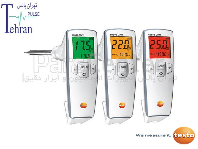 دستگاه سنجش روغن غذا مدل Testo 270