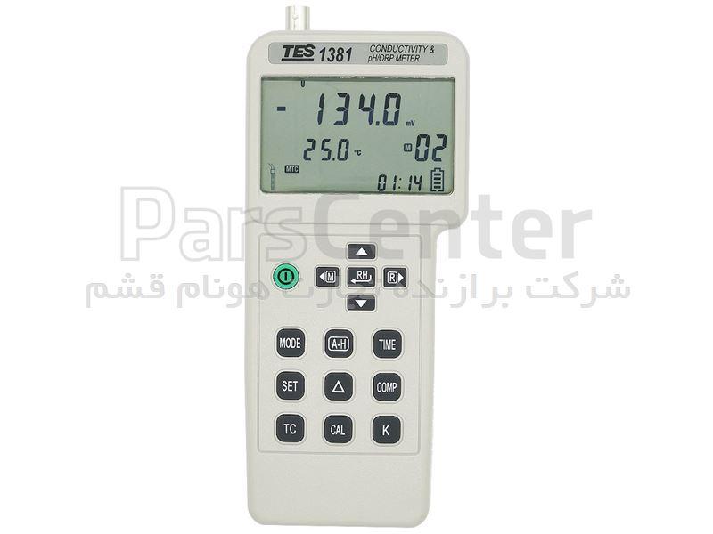 PH متر و کیفیت سنج آب مدل TES-1381 کمپانی TES