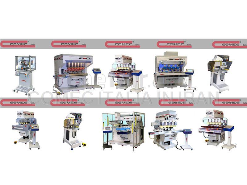 MACHINES pad printer SPECIALE comec italia