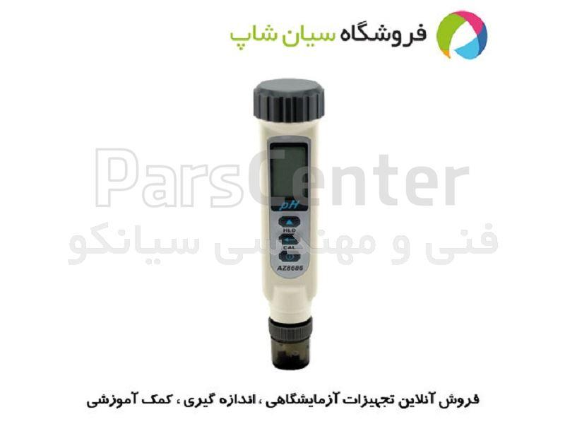 PH متر اسید سنج دماسنج قلمی ارزان قیمت مدل AZ 8686