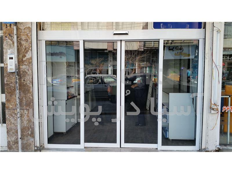 درب اتوماتیک شیشه ای MARVEL 75