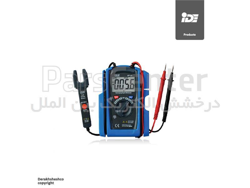 مولتی متر دیجیتال جیبی مدل DT12 کمپانی سی ای ام | CEM