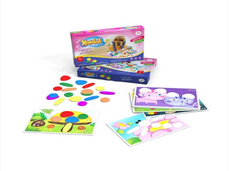 سنگریزه های رنگی سری ۱ کارابال | بازی فکری سنگریزههای رنگی سری ۱