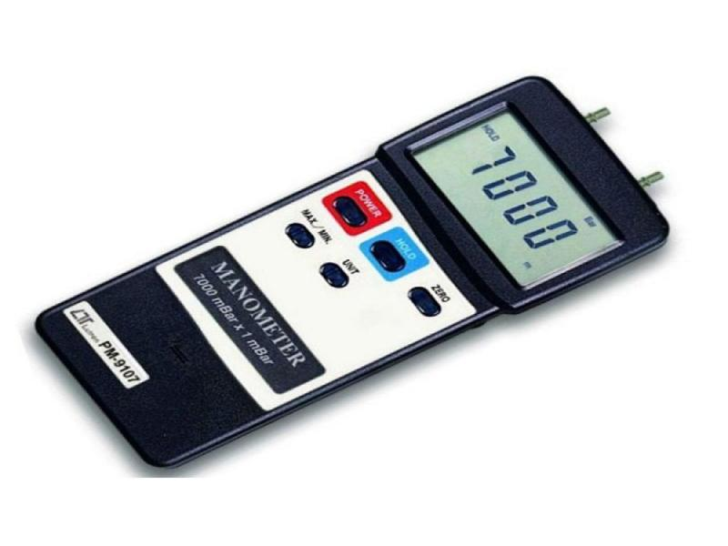 مانومتر ( فشارسنج تفاضلی ) مدل PM9107