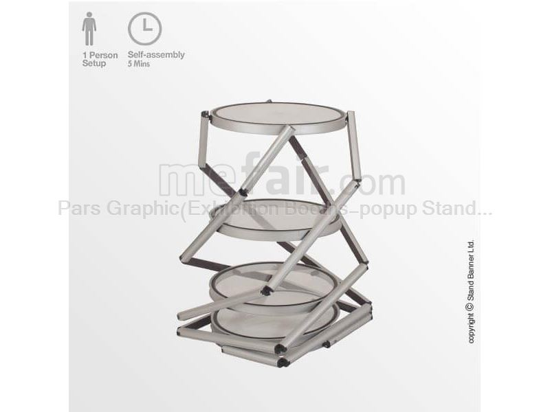 Product Display Tower - Portable Exhibition Case