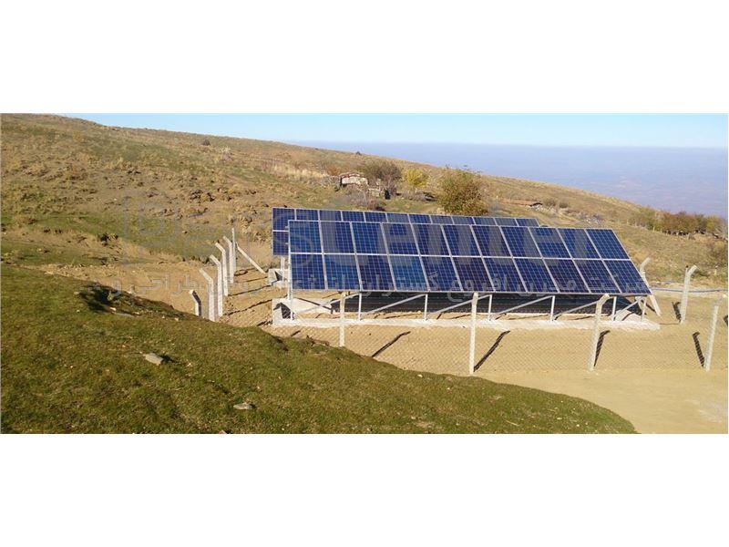 پمپ خورشیدی 205 متری روزکار
