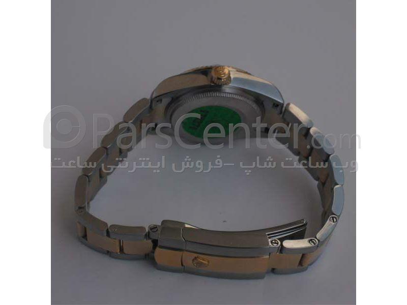 ساعت رولکس high copy مدل  DATEJUST- شیشه ضد خش -بند استیل - صفحه صدفی