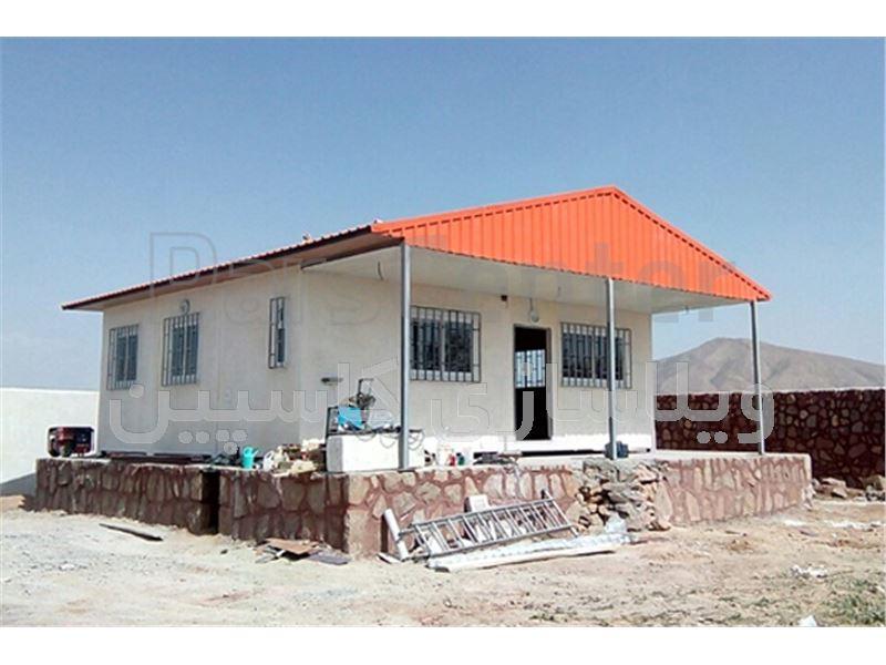 خانه ارزان قیمت بتنی پیش ساخته