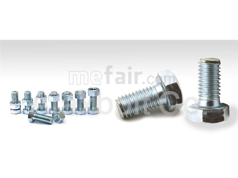 Dacromat plated bolt and nut