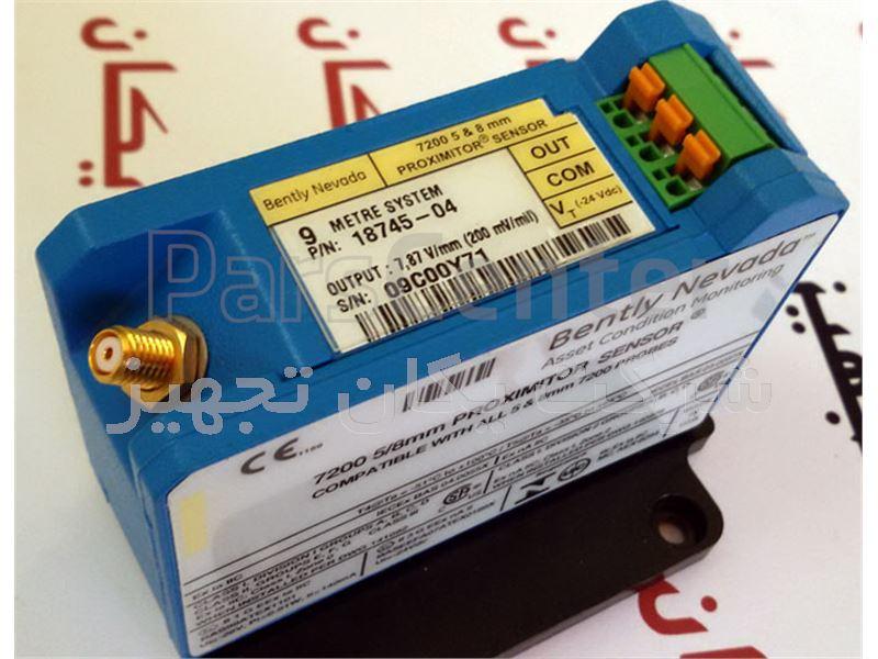 فروش و تامین سنسور مجاورتی یا پراکسیمیتی 7200 بنتلی نوادا 04-18745 Bently Nevada Proximity Sensor