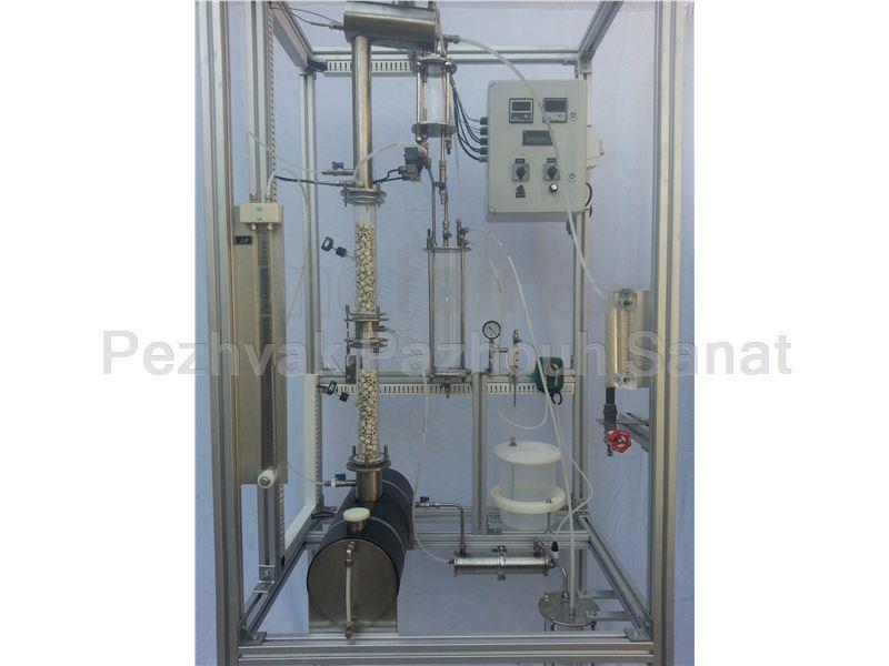 Packed Distillation Column Unit