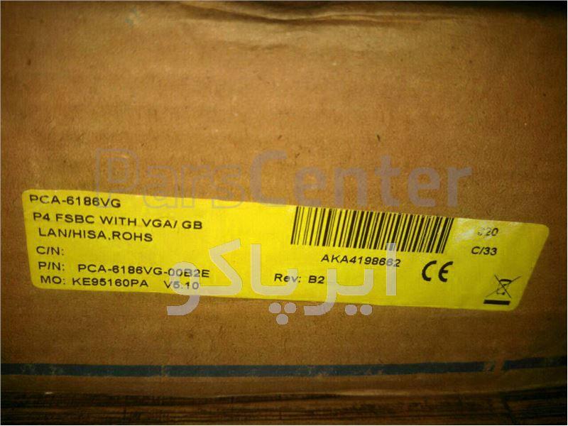 مادربرد صنعتی ADVANTECH PCA-6186