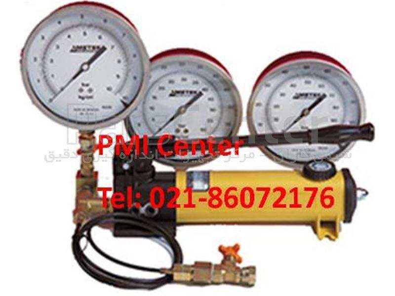 هند پمپ فشار (پمپ رومیزی فشار اینرپک) کالیبراسیون گیج  فشار هیدرولیک  700 بار Pressure Hand Pump