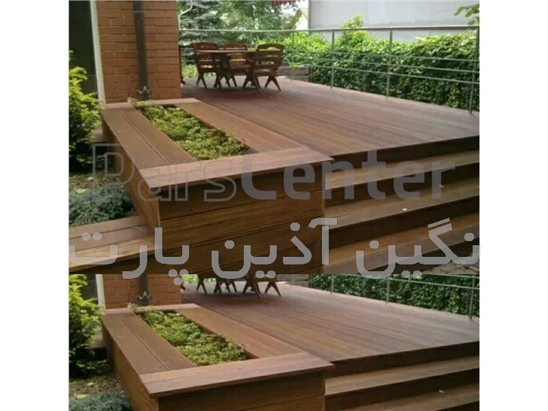 طراحی و اجرای تزئینات چوبی ساختمان