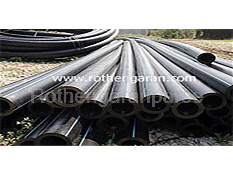 Sewage polyethylene pipe