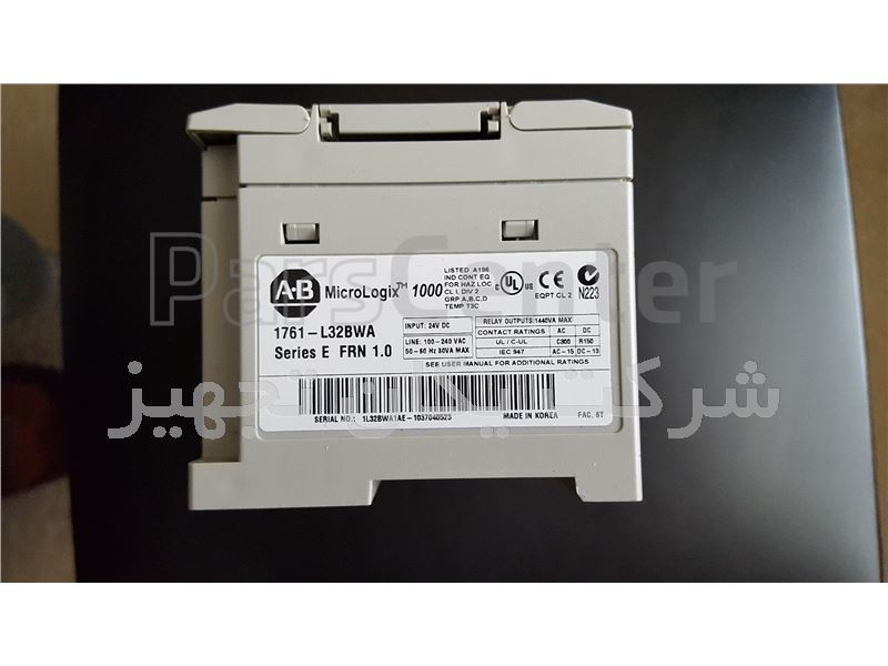 پی ال سی آلن بردلی Allen Bradley Micrologix 1000 1761-L32AWA 32 point PLC Processor