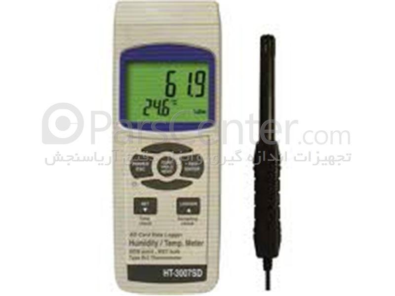 دیتالاگر ، ترموگراف ، ترمومتر ، رطوبت سنج دیجیتال HT-3007SD