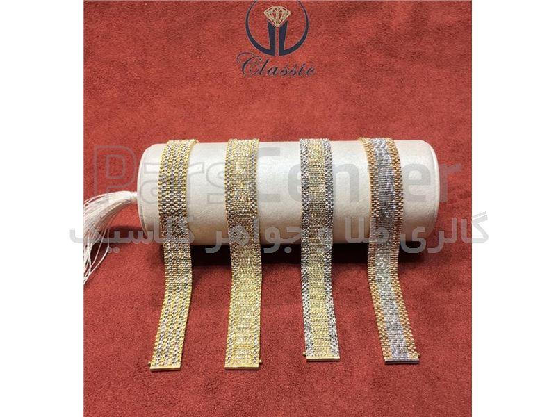 دستبند رولکس طلا - کد: ١١٠