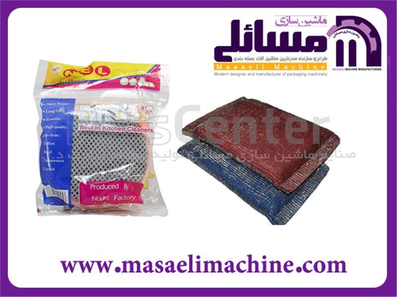 دستگاه بسته بندی اسکاچ و سیم ظرفشویی