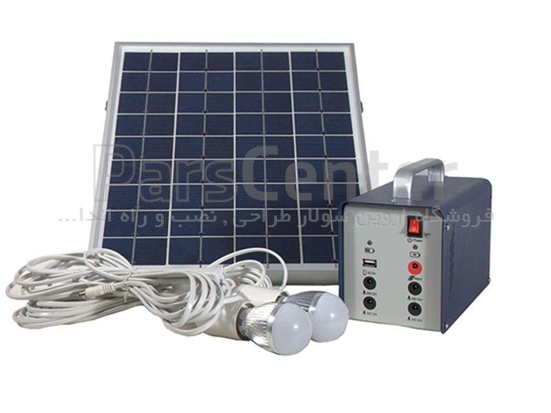 پکیج برق خورشیدی 100 وات Yingli Solar