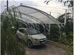 پوشش سقف پارکینگ با ورق پلی کربنات PS Pu4