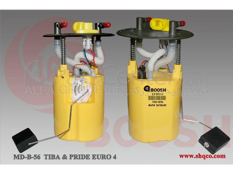 مجموعه کامل پمپ بنزین و درجه داخل باک تیبا و پراید یورو 4