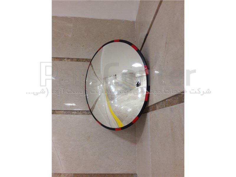 آینه محدب پارکینگ شیشه ای ساده قطر ۵۰ سانتی متر