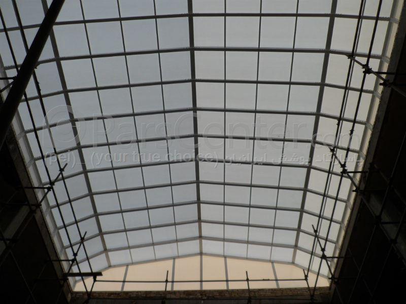 Building skylight _ نورگیر سقف مجتمع تجاری احمدی (اصفهان)