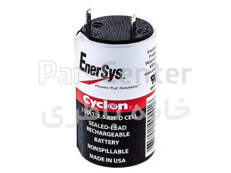 باتری سایکلون 2 ولت 2/5 آمپر ساخت آمریکا
