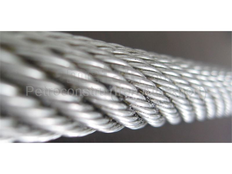 Non-rotating Steel wire rope for tower crane