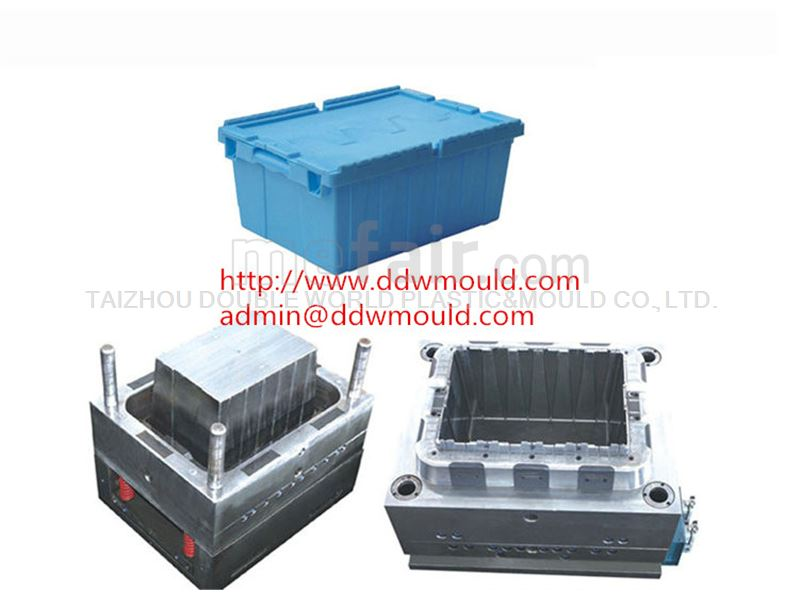 DDW Plastic Crate Mold Plastic Basket Mold to Turkey