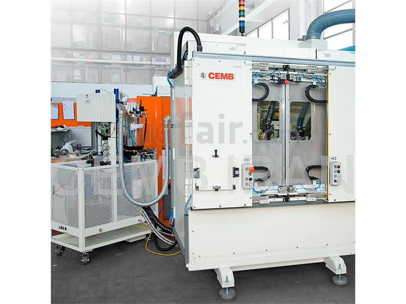 Balancing Machine for Turbo Chargers / Turbo Compressors - CEMB