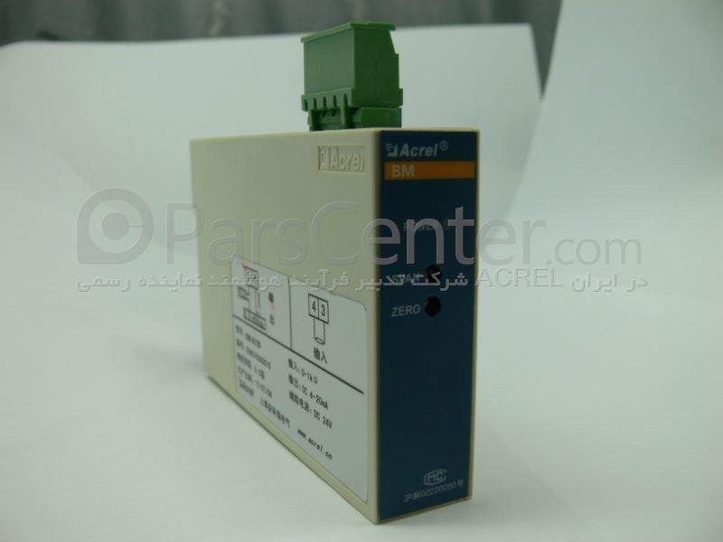 ترانسمیتر مبدل ایزوله سنسور حرارتی pt 100 به سیگنال جریان loop power مدلBM-TR/IS