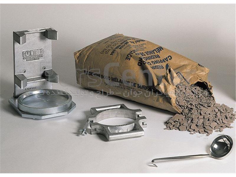 قالب کپینگ نمونه بتن استوانه ای 6 اینچ