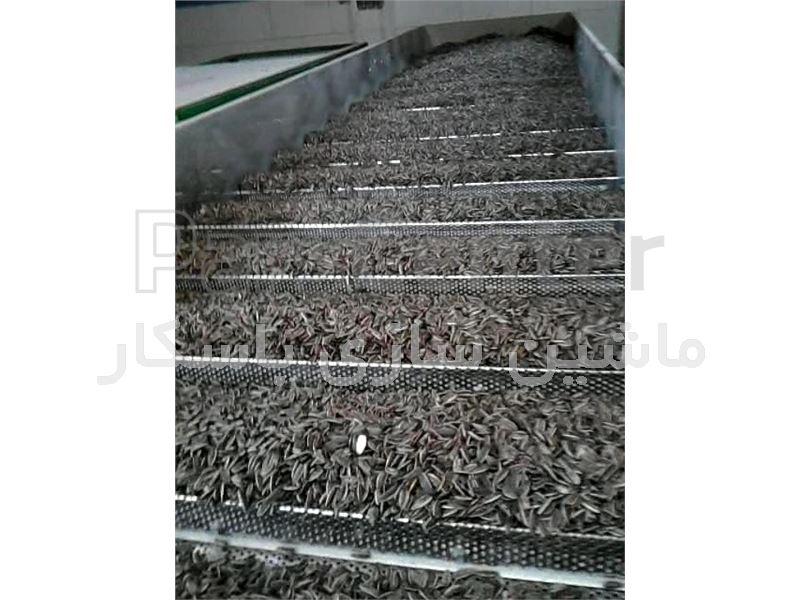 خشک کن خطی پله ای (line step) باسکار