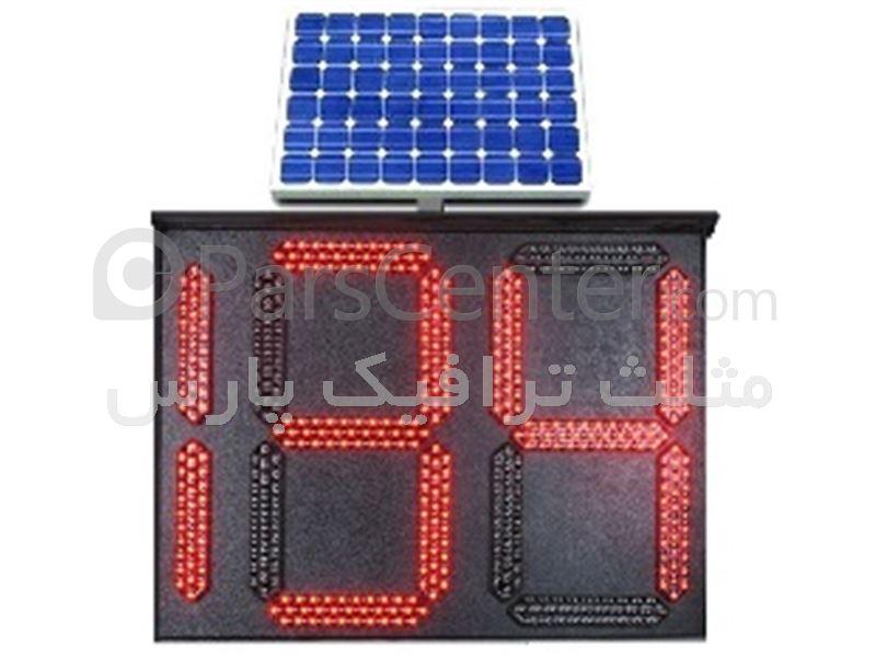 دستگاه فرماندهی- کنترلر خورشیدی-معکوس شمار- شمارشگرمعکوس