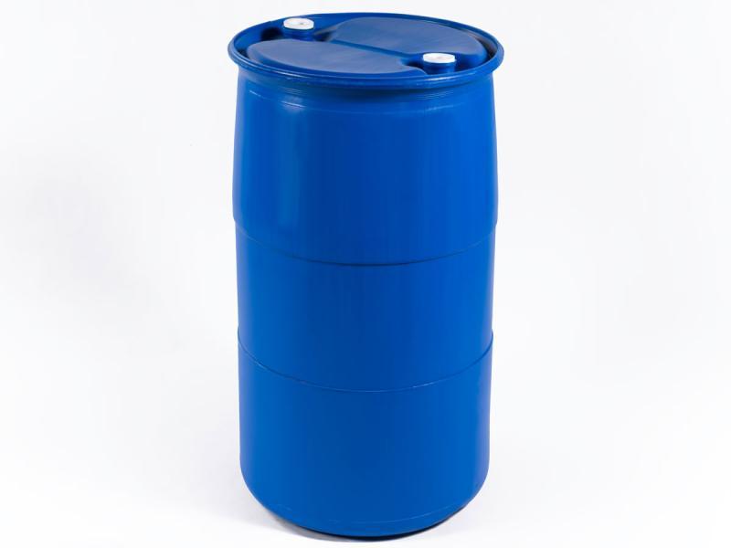 220 liter L RING  plastic barrel