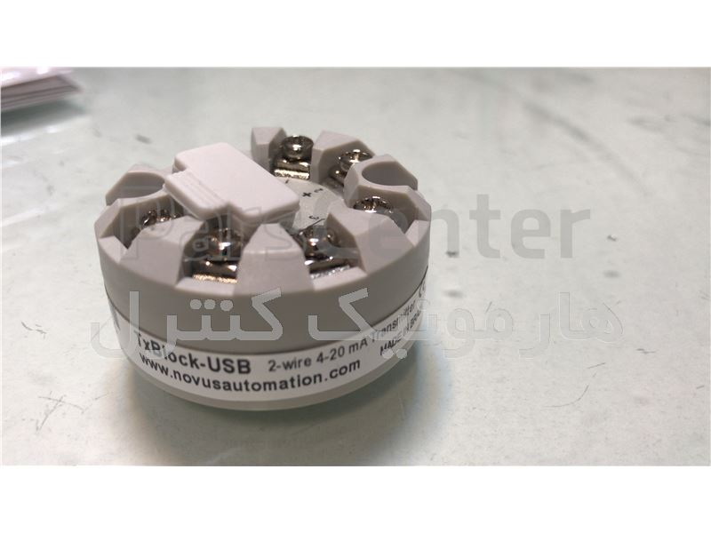 ترانسمیتر دما NOVUS TXBLOCK-USB