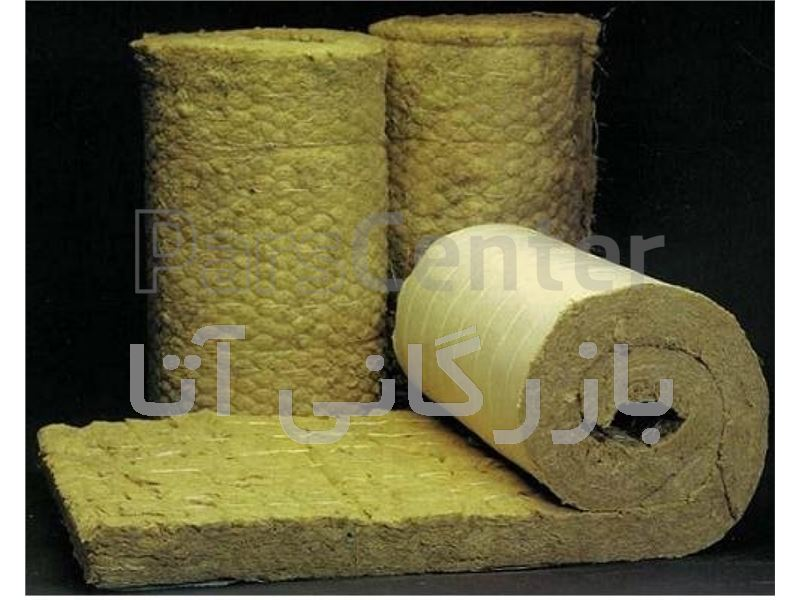 عایق پشم سنگ پتویی