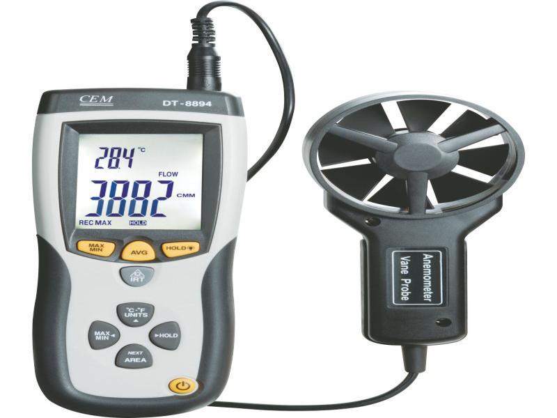فشارسنج تفاضلی و سرعت سنج باد مدل CEM DT-8920