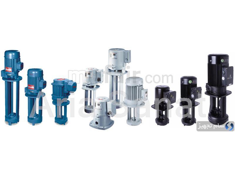 Cutting machine coolant pump