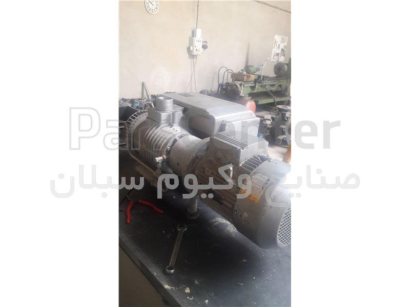 سرویس و بازسازی پمپ وکیوم روغنی (روتاری)