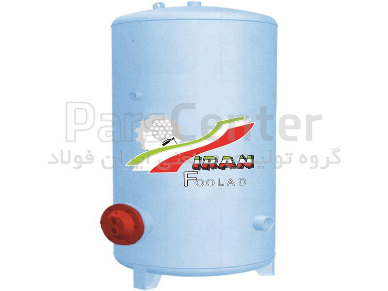 منبع کویل دار 300 لیتری خوابیده