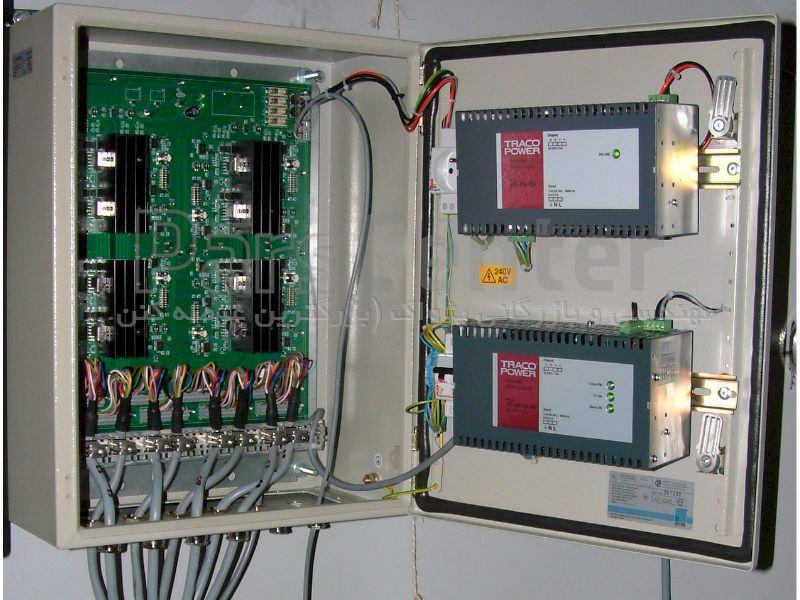 طراحی و مونتاژ تابلو برق روشنایی