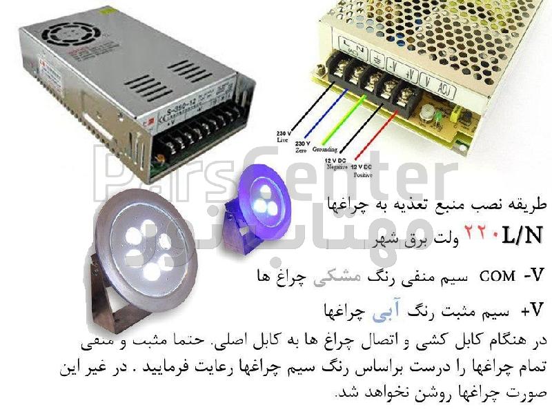 نصب و خدمات بعد از فروش چراغها