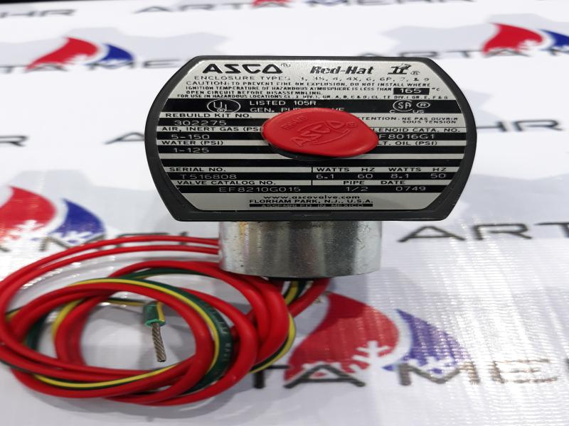 شیر برقی ASCO مدل EF8210G015